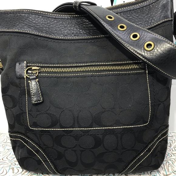Coach Handbags - Coach Signature medium duffle bag crossbody